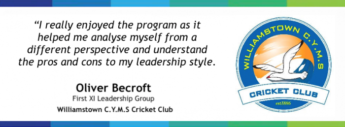 Cricket sport leadership community